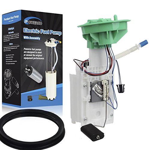 POWERCO Fuel Pump E8594M SP5010M Replacement for 2002 2003 2004 Mini Cooper L4-1.6L Supercharged with Sending Unit, Float, Reservoir, Strainer & Tank Seal