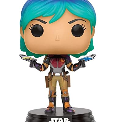 Funko Star Wars Rebels Sabine Pop Figure: Funko Pop! Star Wars:: Toys & Games