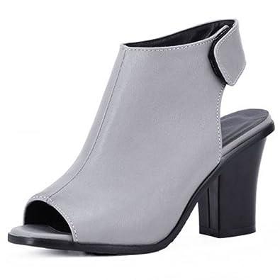 Zanpa Damen Moda Slingback Sandalen Heels