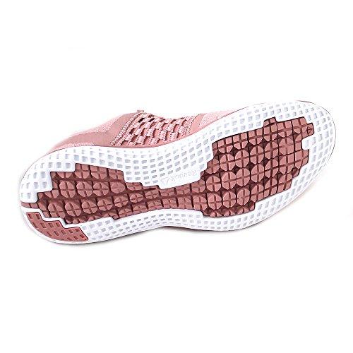 Reebok Print Run Dist, Zapatillas de Running Para Mujer Rosa (Chalk Pink/Porcelain 000)