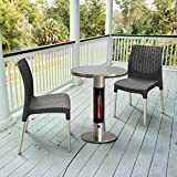 Jur_Global Infrared Electric Outdoor Patio Heater - Bistro Table