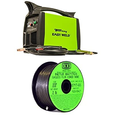 Forney Easy Weld 299 125FC Flux Core Welder with INETUB .030-Inch 2-Pound Carbon Steel Welding Wire