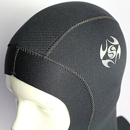 Wetsuit Surf hood balaclava cap V.Warm 3mm titanium neo