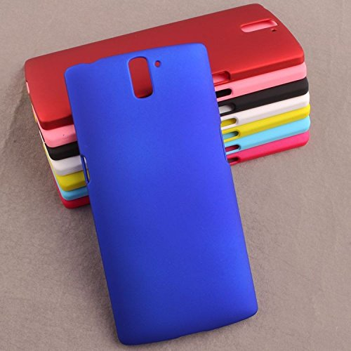 low priced f0229 f7afc Ados Oneplus One Phone Case Hard Matte (Blue)