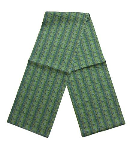 フィードバック繊細疫病[龍村美術織物] リサイクル 名古屋帯  縞に馬車文様 正絹