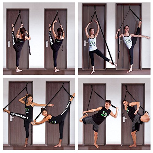Leg Stretcher: Get More Flexible With The Door Flexibility Trainer PRO by EverStretch: Premium stretching equipment for ballet, dance, MMA, taekwondo & gymnastics. Your own portable stretch machine!