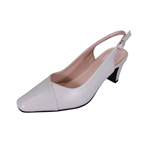 364976c9c94a Peerage Taryn Women Extra Wide Width Slingback Shoes Beige 7