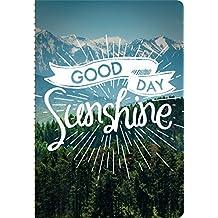 Orange Circle Good Day Sunshine Weekly Planner Calendar 2016