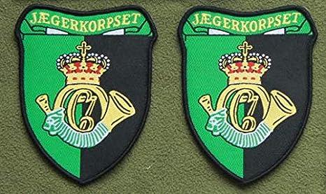 Rainbow Six R6 Dinamarca Hunter Legion parche militar bordado insignias parche táctico pegatinas para ropa con gancho y bucle: Amazon.es: Juguetes y juegos