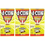 D-Con Ready Mix Rat and Mouse Killer, 12 Oz Boxes (Pack of 3) Total 12 Bait Trays, Total 36 Ounces
