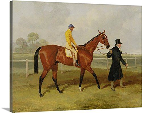 Harry Hall Premium Thick-Wrap Canvas Wall Art Print entitled