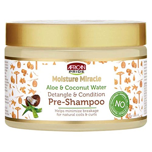 NEW AFRICAN PRIDE MOISTURE MIRACLE DETANGLE & CONDITION PRE-
