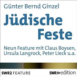 Jüdische Feste Hörbuch