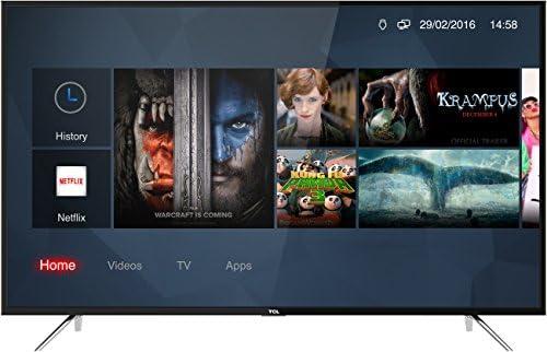 Televisor de 55 Pulgadas, Smart TV TCL