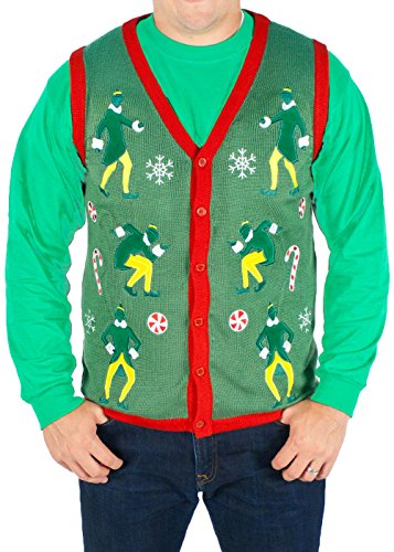 Lighted Buddy The Elf Sweater