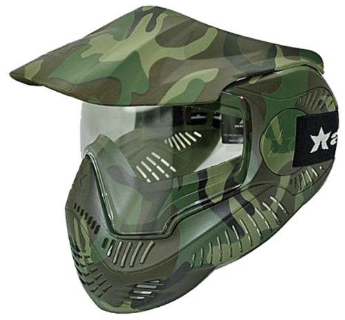 Paintball Goggles Camo (Sly Annex MI-7C Thermal Paintball Mask Goggles - Woodland Camo)