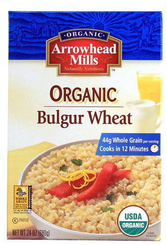 Arrowhead Mills Organic Bulgur Wheat -- 24 oz - 2 pc (Arrowhead Bulgur Mills)