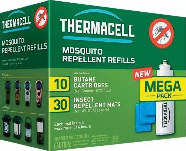 Thermacell R-10 Mosquito Repellent Refill Pack for Repellers Torches and Lanterns 120 Hour Pack