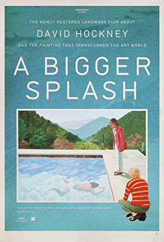 A Bigger Splash R2019 U.S. One Sheet Poster