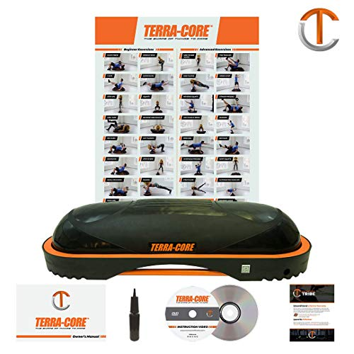 (Terra Core Balance Trainer, Stability, Agility, Strength, Functional Fitness, Core Exercises, Abs Workout, Pushups, Weight Bench.)