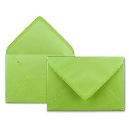 Qualit/ätsmarke FarbenFroh/® Kuverts in DIN B6 Format 125 x 175 mm 80 g//m/² 200x Brief-Umschl/äge in Himmel-Blau Nassklebung ohne Fenster