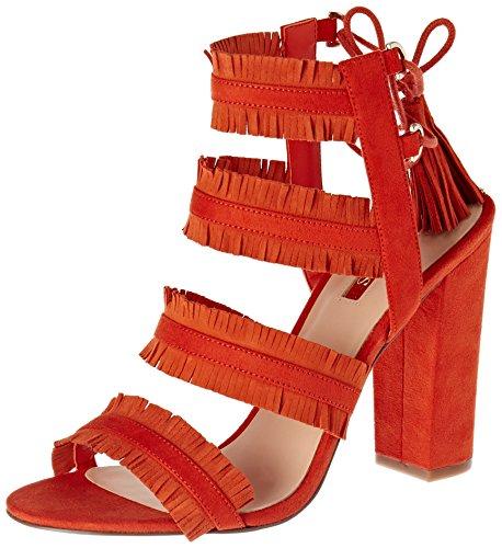 GUESS Econi - Tacones Mujer Arancione