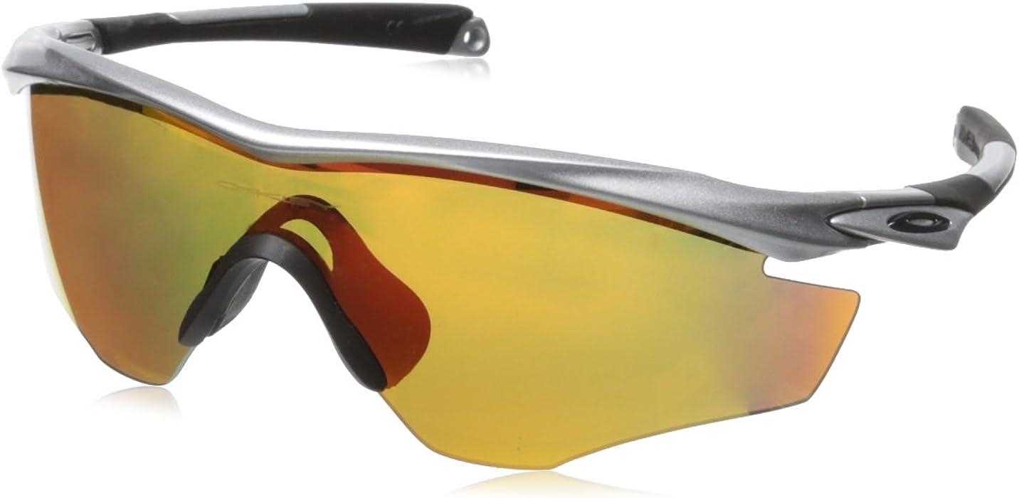 449d73aec24 Amazon.com  Oakley M2 Frame Non-Polarized Iridium Shield Sunglasses ...