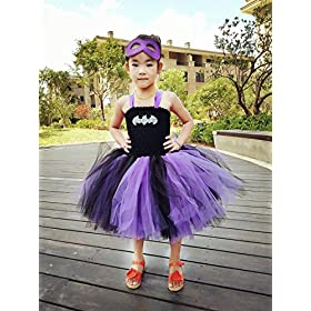 - 51EzOmpORvL - Tutu Dreams Halloween Tutu Dress for Girls