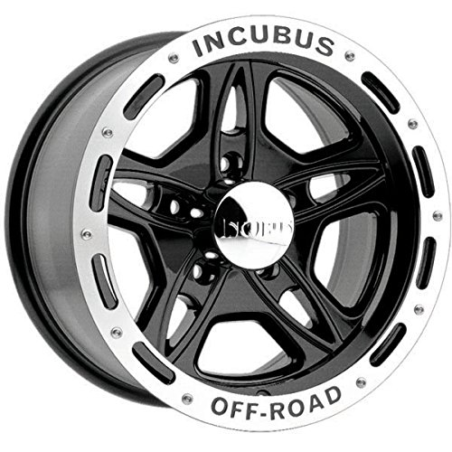 Incubus 511 Off-Road 17×9 5×114.3/5×4.5″ -12mm Gloss Black Wheel Rim