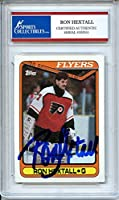 Ron Hextall 1990 O-Pee-Chee Philadelphia Flyers Signed Trading Card - Certified Authentic