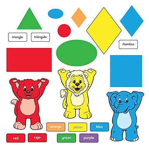 (TREND enterprises, Inc. T-8010 Colors & Shapes (EN/SP) Bulletin Board)