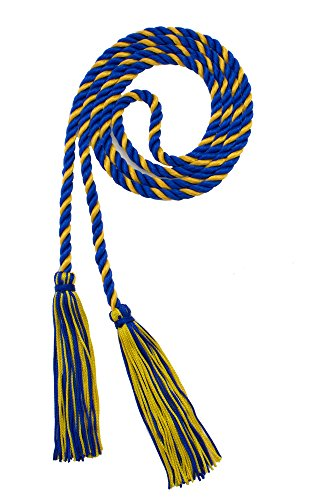 Honor Cord Royal   Gold   Tassel Depot Brand   Made In Usa