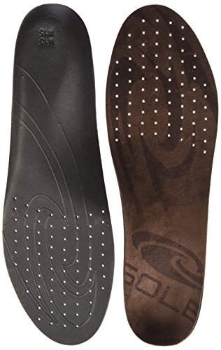 Custom Footbed (Sole SoftecCasual Adult's Custom Footbed Insole Brown Men's 12.5 - 13 US / Women's 14.5 - 15 US)