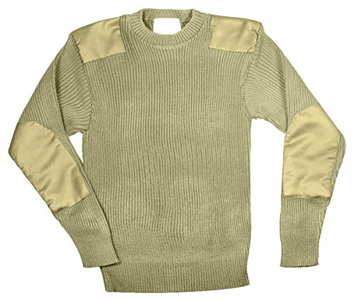 Rothco Acrylic Commando Sweater Khaki product image