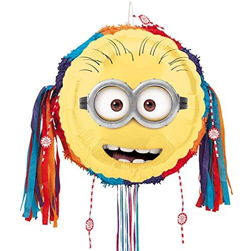 Despicable Me Minion Pull String Pinata Partyrama HMP-29952AMS-DMMT