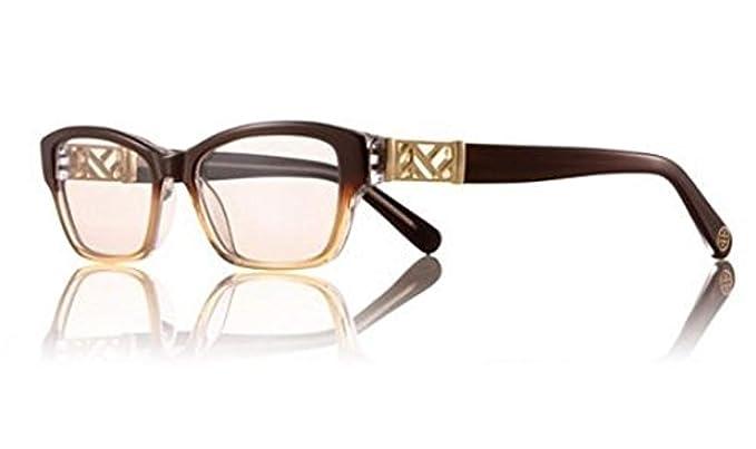 1ad62db586dc Tory Burch TY 2039 TY2039 Eyeglass Frames 1010-53 - Brown Amber Fade TY2039-