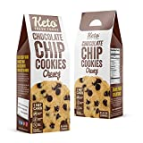 Keto Fresh Foods Chocolate Chip Cookies Features: 1 NET Carb | Sugar Free | Gluten Free | Made with Organic & Natural Ingredients | Paleo & Grandma Approved (12 Count)