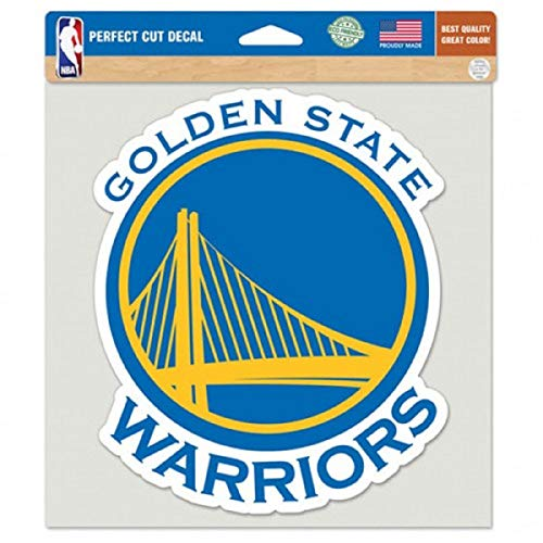 - WinCraft NBA Golden State Warriors Perfect Cut Color Decal, 8