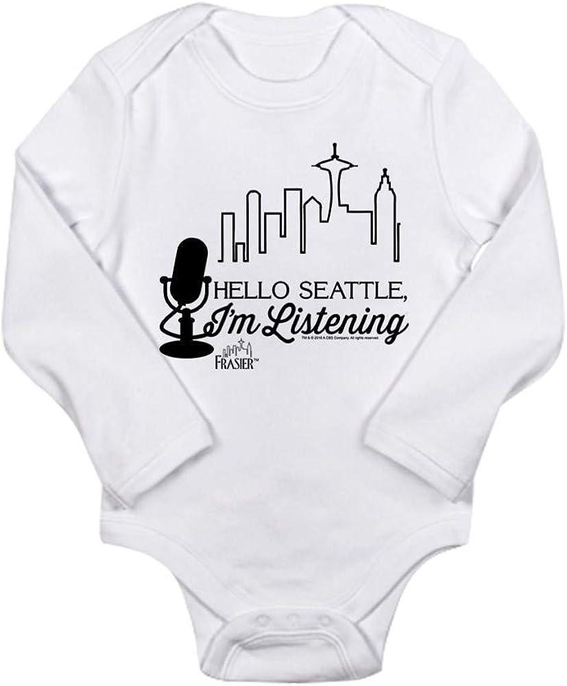 CafePress Frasier Hello Seattle Baby Bodysuit
