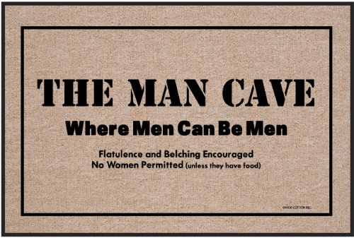 High Cotton Outdoor Mat, Man Cave