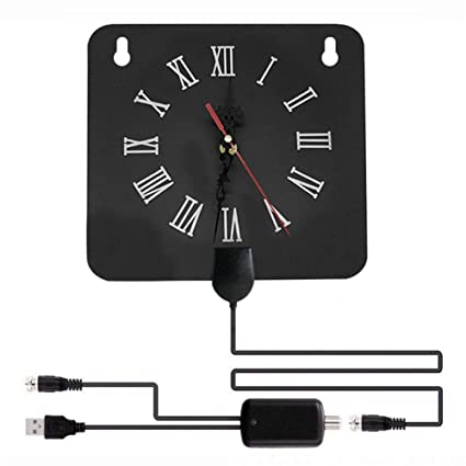 Amazon.com: Centishop TV Antenna Alarm Clock Style for ...