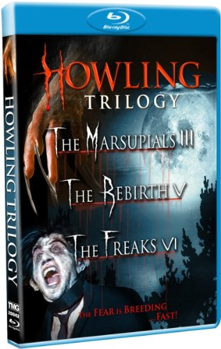 Howling Trilogy (The Marsupials III / The Rebirth V / The Freaks VI) [Blu-ray]