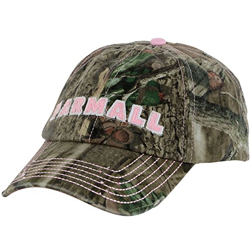 Farmall IH Ladies Hat, Camo with Pink Accent