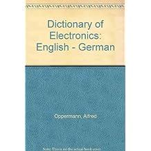 Dictionary of Electronics: English - German