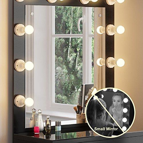 Tribesigns Vanity Set With Lighted Mirror Makeup Vanity