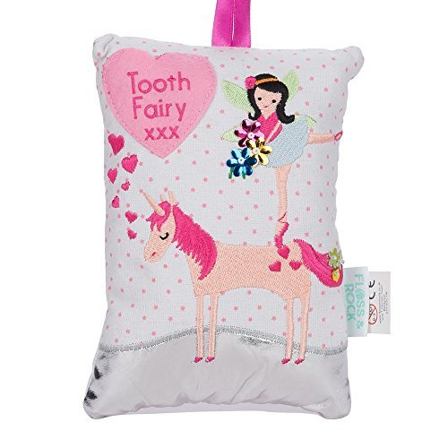 Floss & Rock Fairy Unicorn Tooth Fairy Pillow -