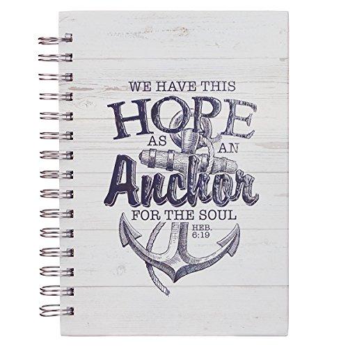 (Hope as an Anchor Large Wirebound Journal Hebrews)