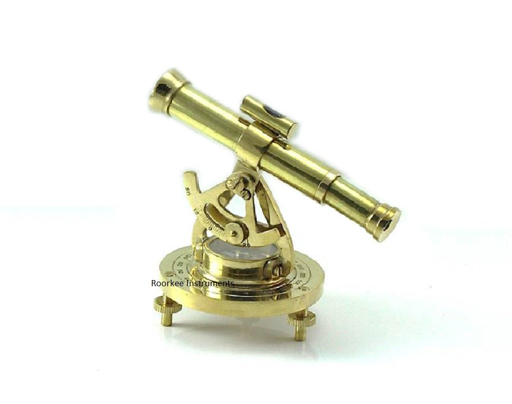 5'' Brass Surveying Theodolite - Alidade Level
