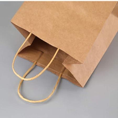 Amazon.com: ROZKITCH Bolsas de papel kraft, color marrón ...
