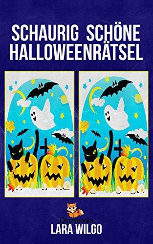 Schaurig schöne Halloweenrätsel (Rätselspaß für Kinder ab 6 Jahre) (German Edition)]()